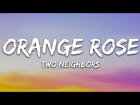 Two Neighbors - Orange Rose