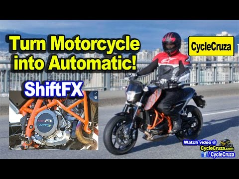 ShiftFX - Turn Any Motorcycle into Automatic Motorcycle! | MotoVlog