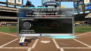 MLB 2k10 pc gameplay Maxed out Settings HD