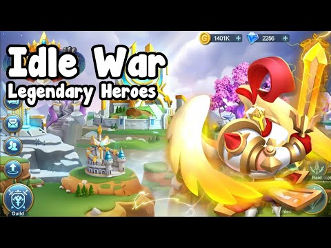 IDLE War Legendary Heroes - Intro Video