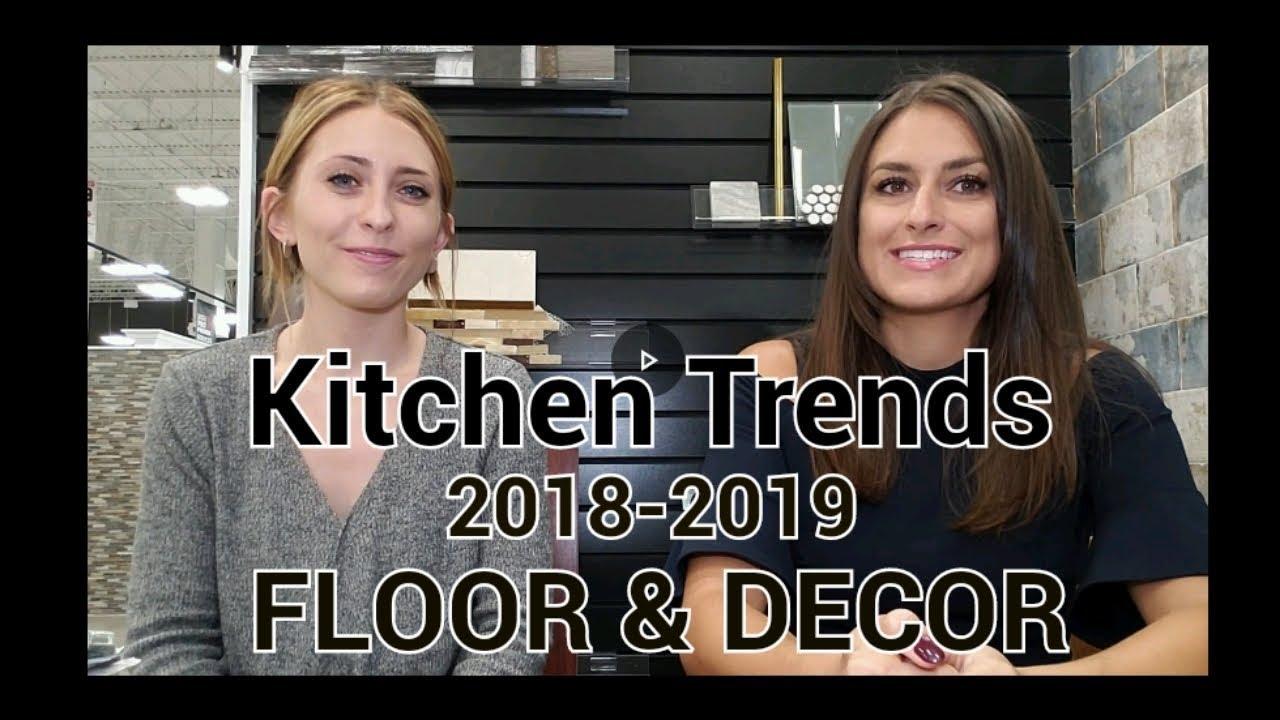 Tile Trends Kitchen Renovations 2018
