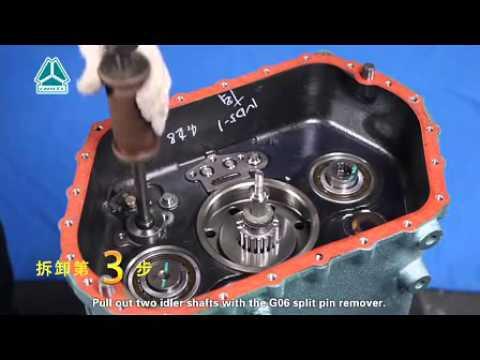 SINOTRUK HOWO HW15710 HW19710 GEARBOX