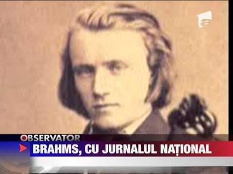 Colectia Mari Compozitori Johannes Brahms cu Jurnalul National 26 MARTIE 2011