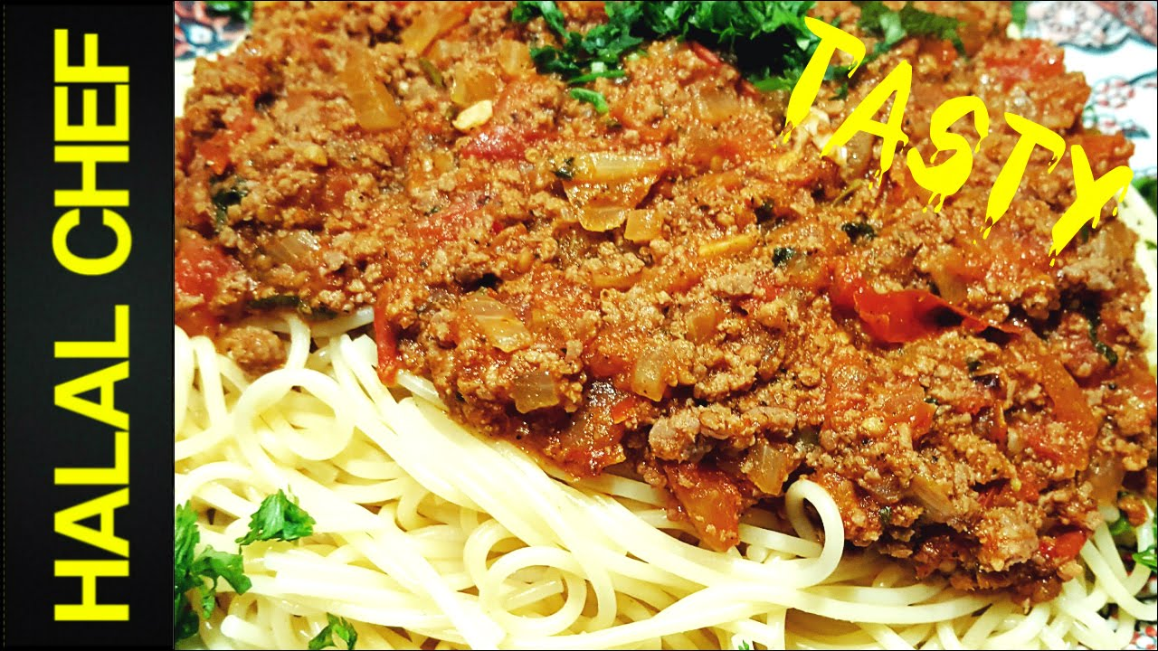 How to make spaghetti bolognese easy italian recipe ragu recipe how to make spaghetti bolognese easy italian recipe ragu recipe halal chef forumfinder Image collections