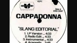 CAPPADONNA - SLANG EDITORIAL