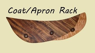 Coat/apron Rack