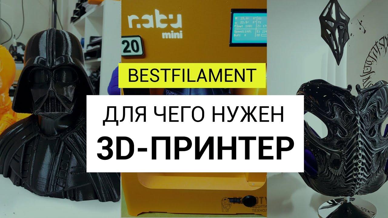 Для чего нужен 3D-принтер: что печатать для дома, бизнеса и для души