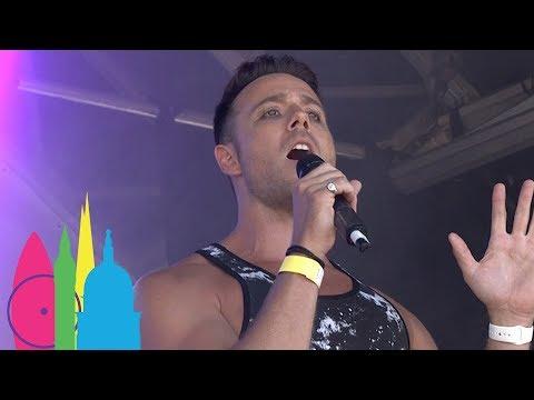 Daniel Koek Live Performance   Pride in London 2017
