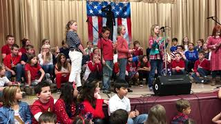 Indian Springs Elementary Schools annual Veterans Day program Tuesday
