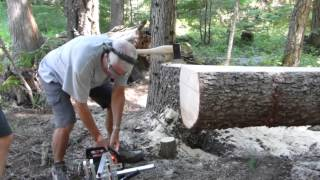 Chainsaw Milling At The Cabin
