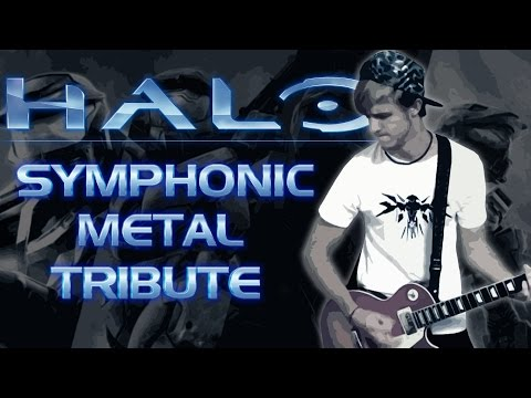 REMIX - Halo Theme: Symphonic Metal Cover (Guitar Tribute to the Music of Halo)