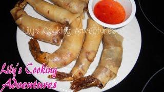 Rocket Shrimp Eggrolls | Tom Hoa Tien | Firecracker Shrimp