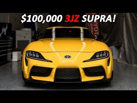 TOYOTA REVEALS SECRET $100,000 *3JZ* SUPRA PLANS! (and why they were axed)