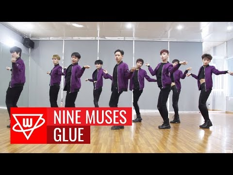 9MUSES (나인뮤지스) - GLUE (글루) dance cover by WINE Dance Team from VIETNAM