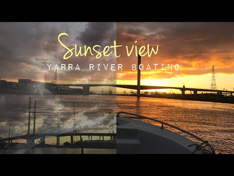 Sunset By The Yarra River   Renee Teo