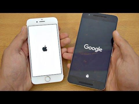 iPhone 7 vs Nexus 6P - Speed Test! (4K)