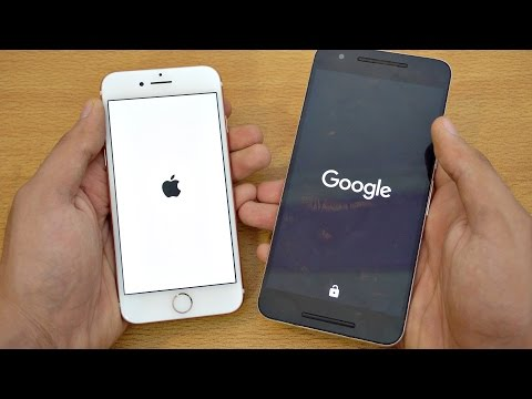 iPhone 7 vs Nexus 6P - Speed Test! (4K)