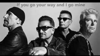 U2 - Every Breaking Wave (Lyrics)