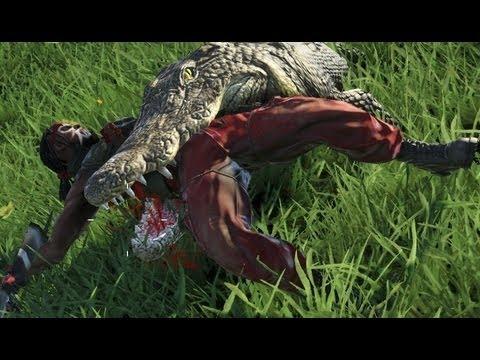 Far Cry 3 Crocodile Attack - YouTube