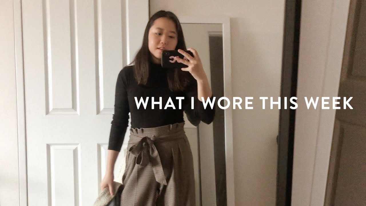 [VIDEO] - A Week of Outfits for Work 9