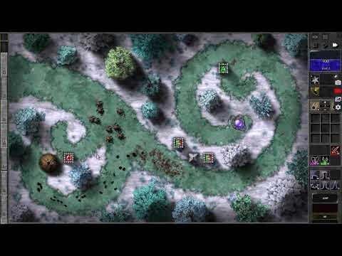 GemCraft Frostborn Wrath Y 1 journey mode game play |