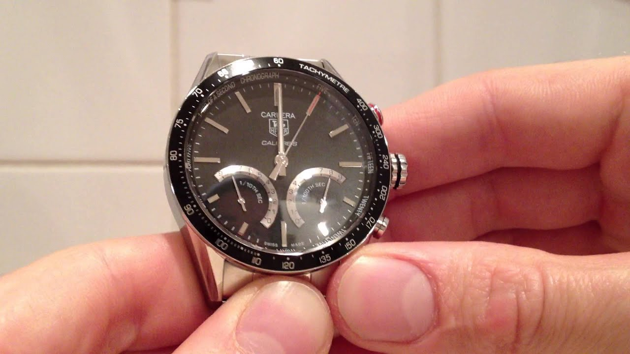 This Tag: TAG Heuer Carrera Calibre S Full Review