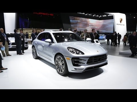 2015 Porsche Macan at the Detroit Auto Show | Consumer Reports