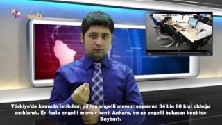 3 Aralık 2014 EngelsizWeb.Tv Ana Haber Bülteni