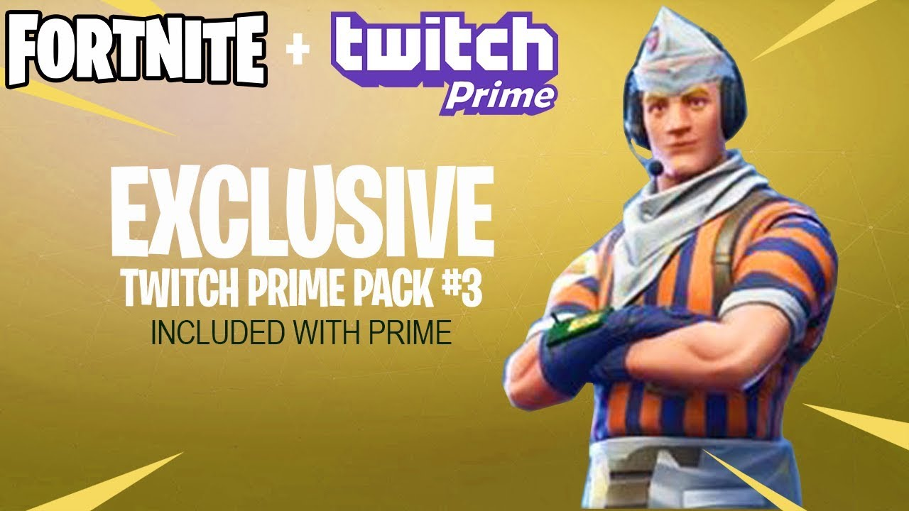 Twitch prime 3 fortnite | Last Day: Free Fortnite Skin And Loot From