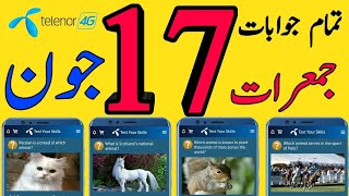 17 June 2021 Questions and Answers   My Telenor TODAY questions   Telenor Questions Today Telenor screenshot 5