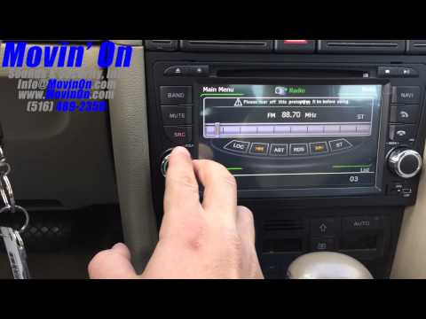 audi a4 radio replacement youtube. Black Bedroom Furniture Sets. Home Design Ideas