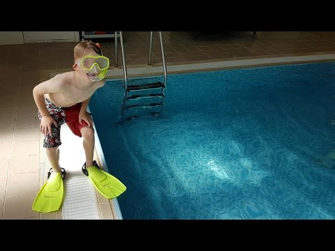 🏊 NEW KIDS FLIPPERS AND SNORKEL FOR JOSS 😄