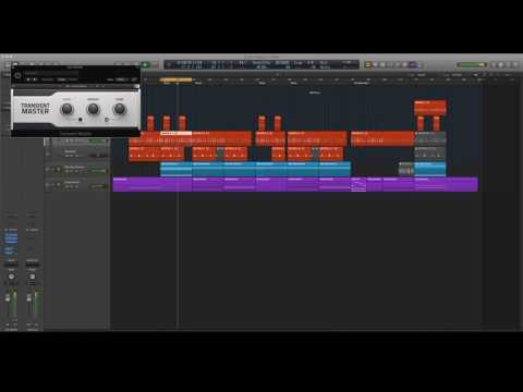 Logic Pro X - How to Mix Hip Hop Drums (or any DAW)