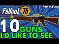 Top 10 Guns and Weapons We Want to See in Fallout 76 (from Fallout 3, 4 and New Vegas) #PumaCounts