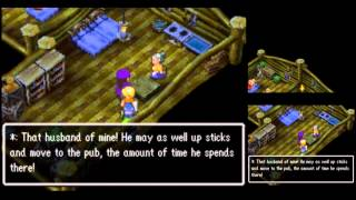 Dragon Quest V [DS] Playthrough #047, Stockenbarrel: Bianca Joins!