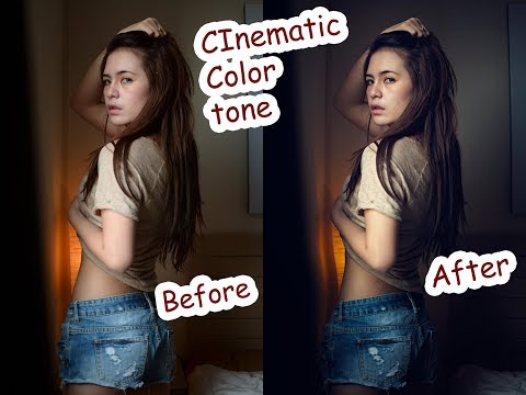 Cinematic color tone #photoshop tutorial indonesia thumbnail