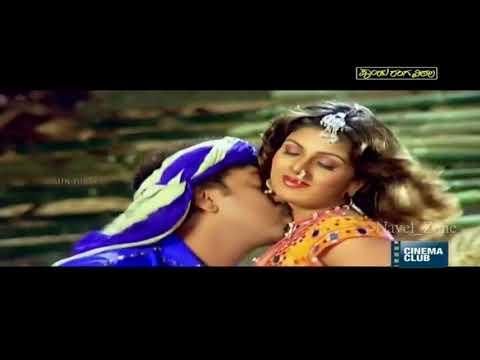 Rambha Navel Kiss Complitation