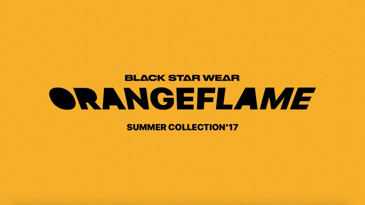 BLACK STAR WEAR — Новая коллекция «Orange Flame» (2017)