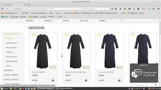 Buy online your cassock in 5 minutes by e-amfia.gr (video tutorial)
