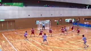 H26年 第23回JOCハンドボール大会京都VS岐阜(ダイジェスト)(女子予選リーグ)