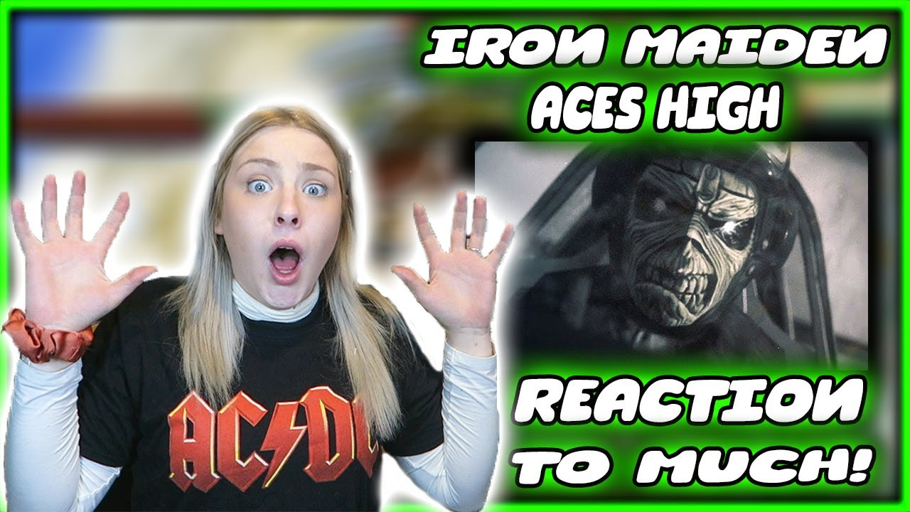 """Download FIRST TIME Hearing """"Aces High"""" by IRON MAIDEN (REACTION)"""