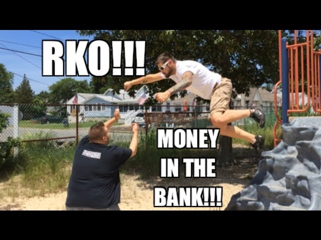 Grims Toy Show ep 890: Money in the Bank match RKO!! WWE mattel wrestling figures collections