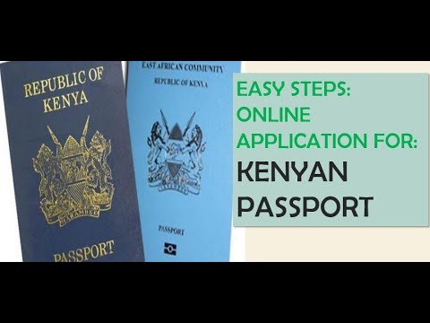 what is the process of passport application