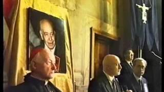 Plinio Corrêa de Oliveira ricordato a Roma - Convegno all'Hotel Columbus