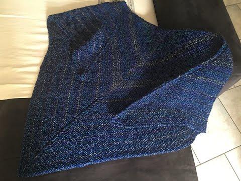 Repeat Châle Point Salomon Au Crochet Chale A Crochet