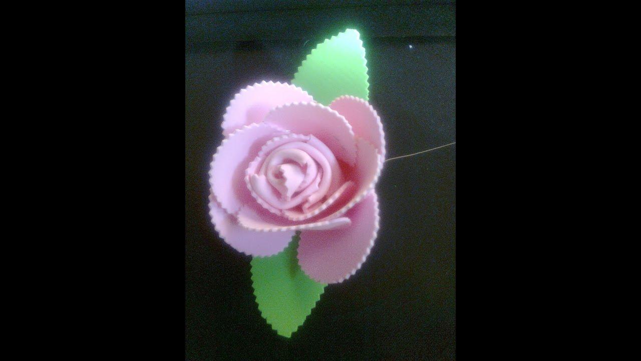 Foam Flowers without glue