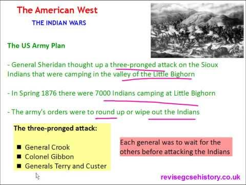 American West - The Indian Wars - The Battle of the Little Bighorn and Custer