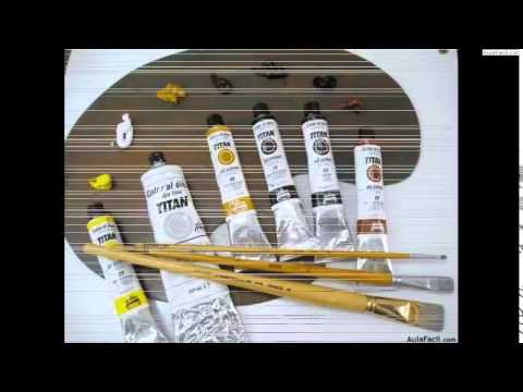 Pintura al óleo III Perspectiva y paisaje/Introducción y materiales/Pintura al óleo III. Pers...
