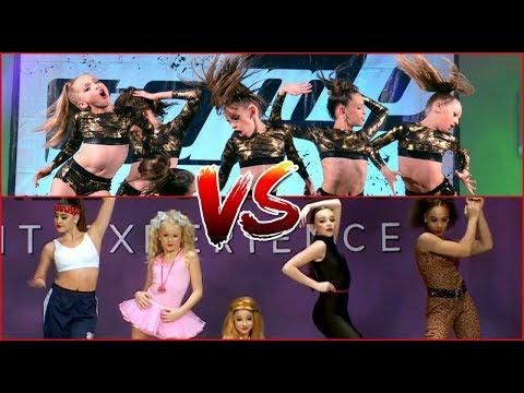 Club Dance VS. Abby Lee Dance Company!
