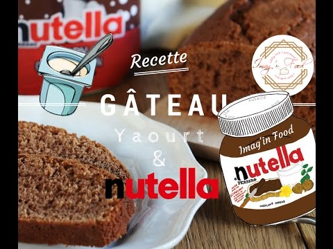 gâteau-yaourt-&-nutella-(recette-facile)